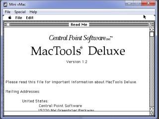 MacTools Deluxe 1.2 (1991)