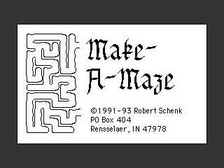Make-A-Maze (1991)