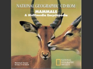 National Geographic CD-ROM: Mammals - A Multimedia Encyclopedia (1993)