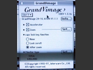 GrandVimage v1.3.1 Video Driver (1993)