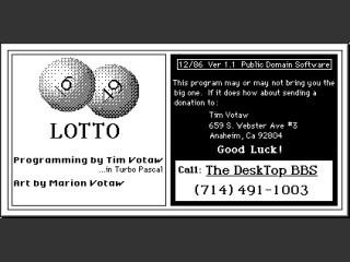 Lotto (1986)
