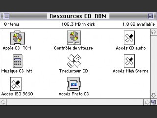 Apple CD-ROM 300(i) Software (4.0.2) (French) (1992)