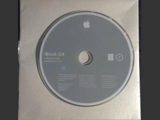 Mac OS Install DVDs UK Retail iBook G4 (2005)