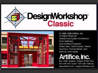 DesignWorkshop 1.8 (1998)
