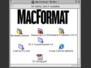 MacFormat CD # 126 (February 2003) (2003)