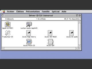 Apple CD-ROM v5.3.1 Universel (1996)