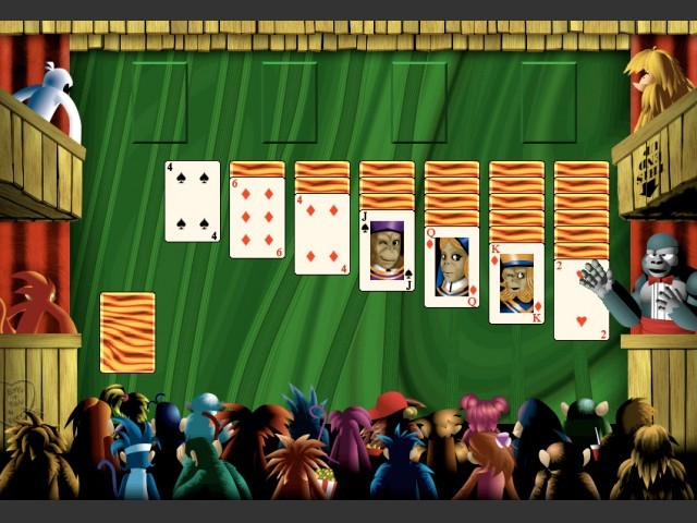 Burning Monkey Solitaire II (2.x) (1999)