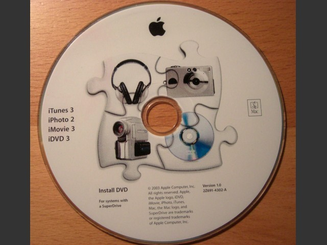 iLife for PPC (2002)