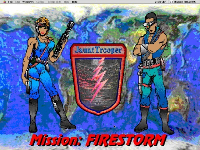 JauntTrooper - Mission: Firestorm (1996)