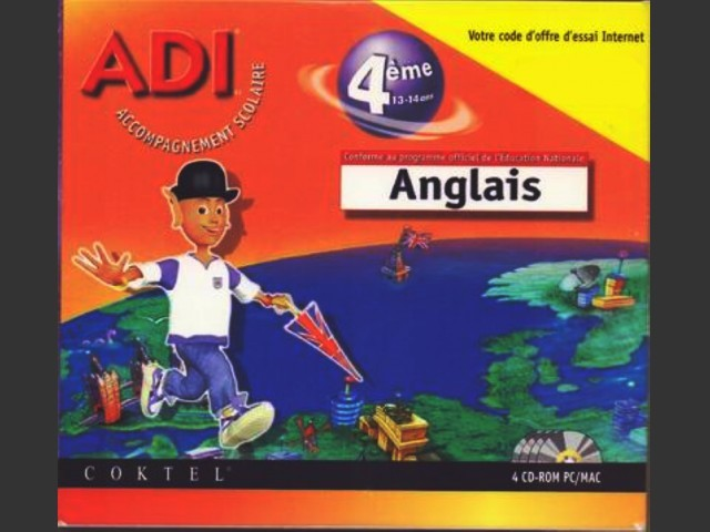 Adi 4 Anglais 4ème (1998)