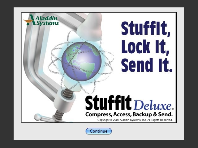 StuffIt Deluxe 8 (2003)