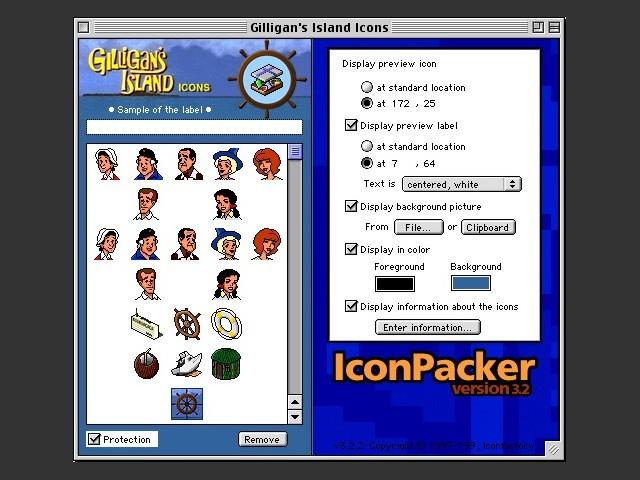 43386739b9c49 Gilligan's Island icon pack - Macintosh Repository