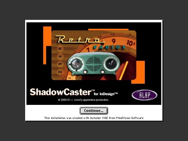 ShadowCaster for InDesign 1.5 (2000)