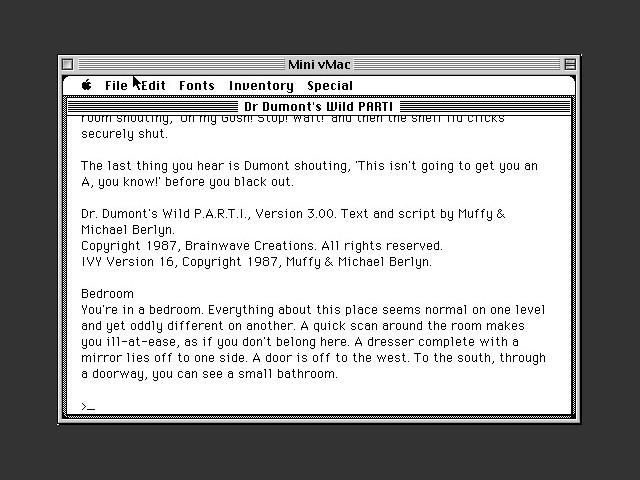 Dr. Dumont's Wild PARTI (1988)
