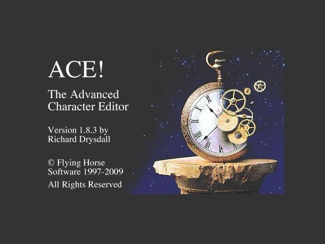 ACE! splash sceen