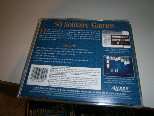 Hoyle Solitaire 2000 (2000)