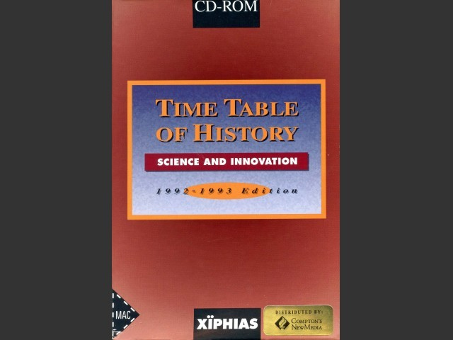 Time Table of History: Science & Innovation (1991)