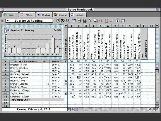 Easy Grade Pro 3.5.5a (1999)
