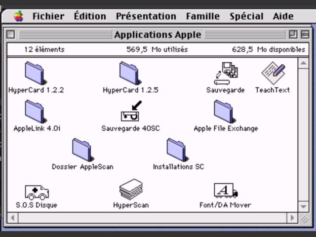 Applications Apple