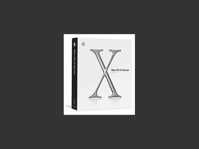 Mac OS X Server 10.2 (2002)