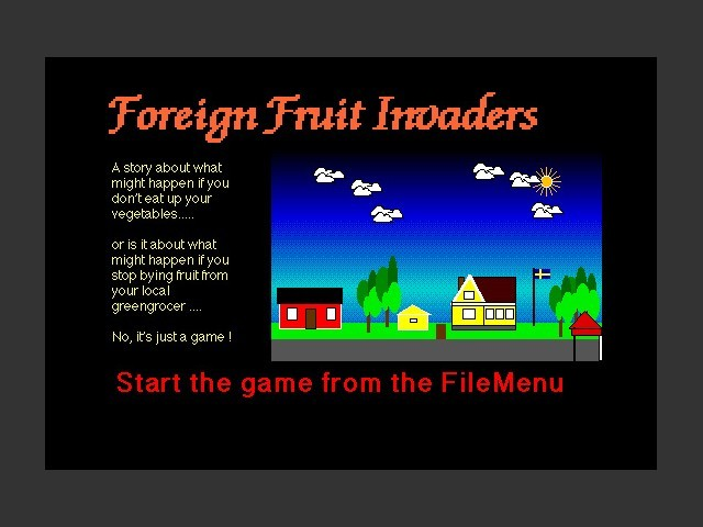 Foreign Fruit Invaders (1998)