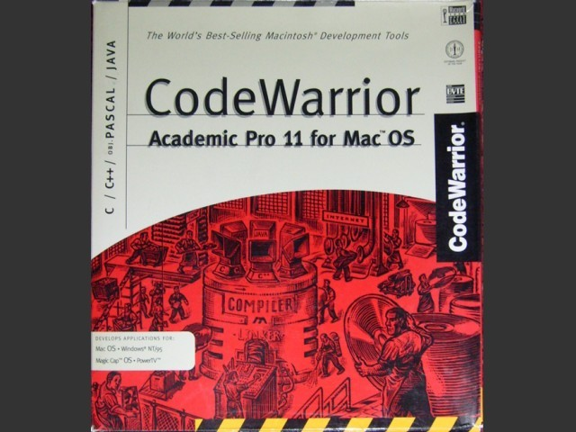 CodeWarrior 11 Academic (Gold) (1997)