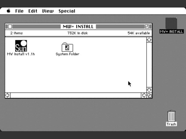 MacWorks Plus 1.1h (0)