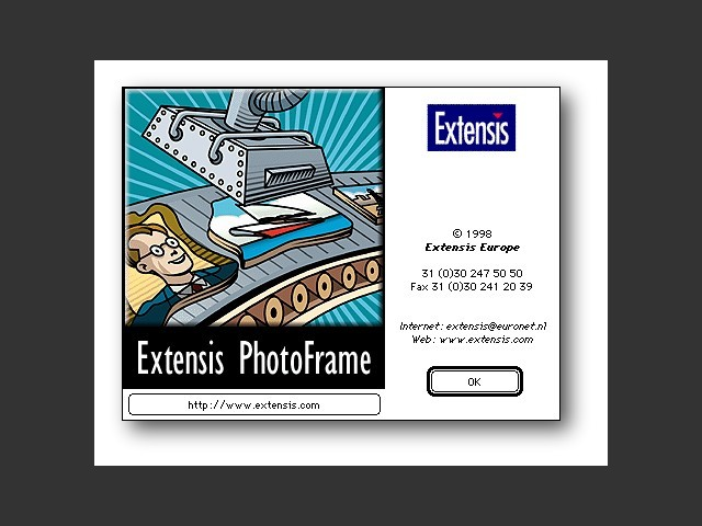 Extensis PhotoFrame 1.0 (1998)
