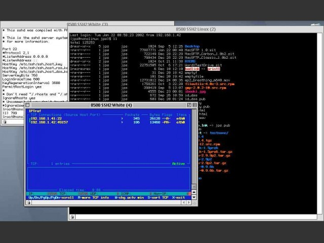 MacSSH 2.1 (2005)