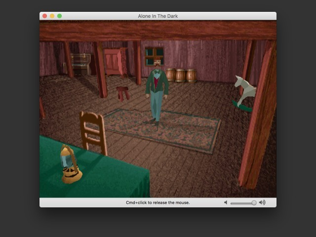 Image de la version GOG (émulation DOS)