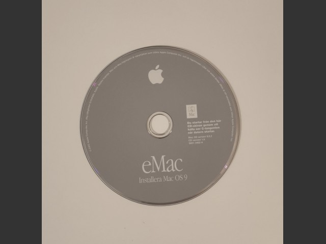 eMac Mac OS 9.2.2 Swedish (2002)