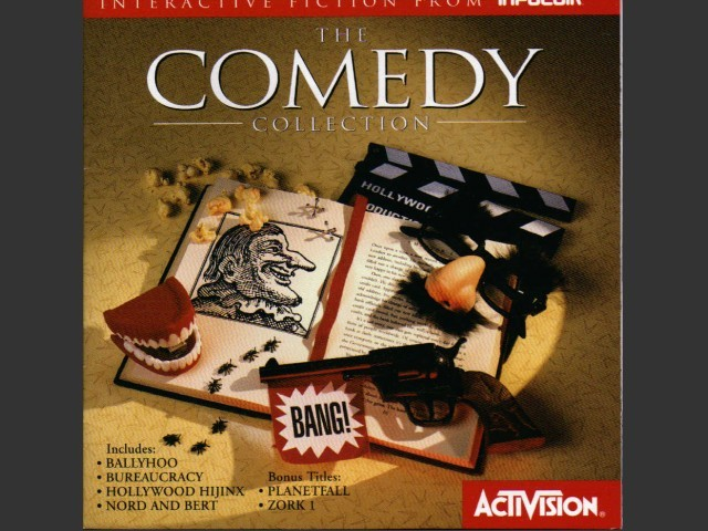 The Comedy Collection - Infocom Interactive Fiction (1995)
