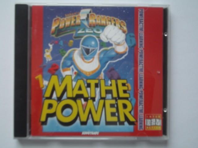 Power Rangers Zeo PowerActive Math (1996)
