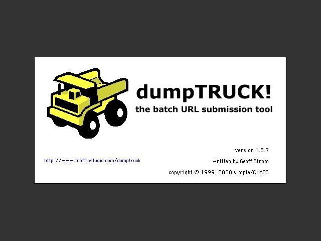 dumpTRUCK! 1.5.7 (2000)
