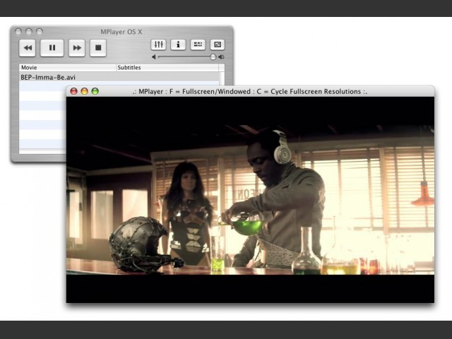 MPlayer OS X (2003)