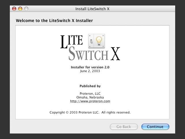 LiteSwitch X (2003)