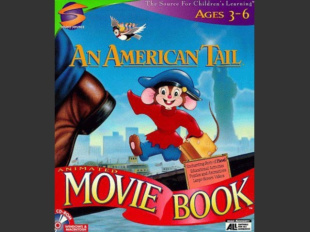 An American Tail: Animated MovieBook (1997)