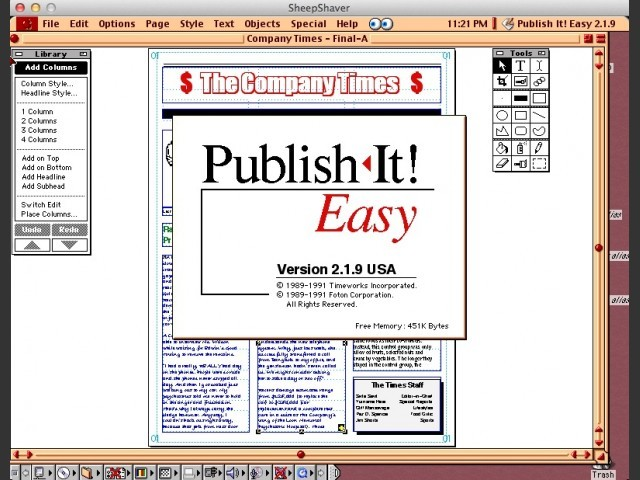 Publish It! Easy v2.1.9 (1990)