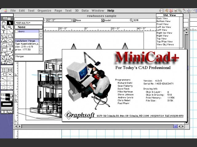 MiniCad+ 4.0 (1993)
