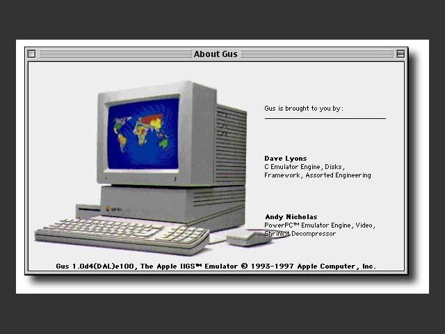 Gus 1.0d4 (1997)
