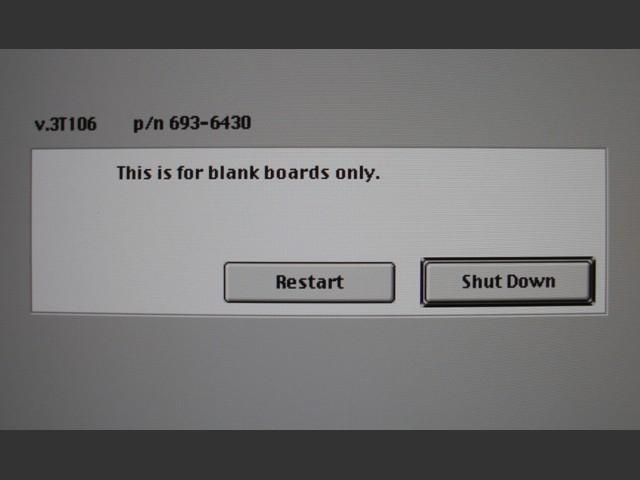 Blank Board Serializer (2007)