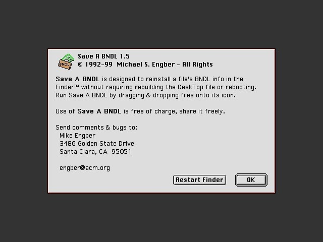 Save a BNDL (1992)