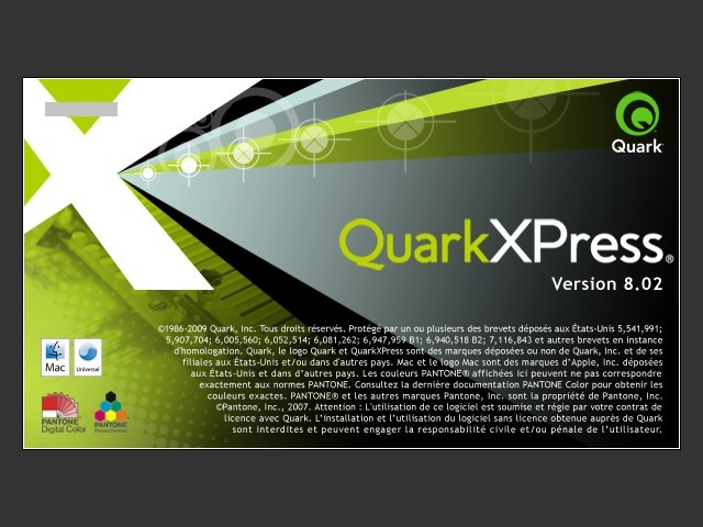 QuarkXPress 8.02 (2009)