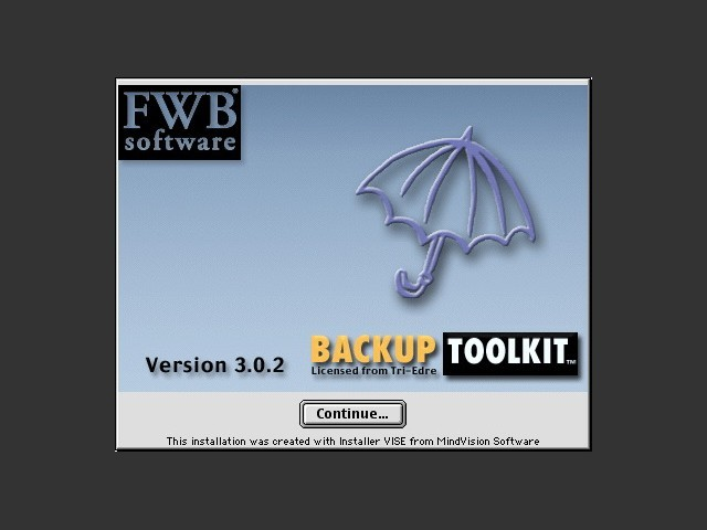 FWB BackUp ToolKit 3.x (2001)