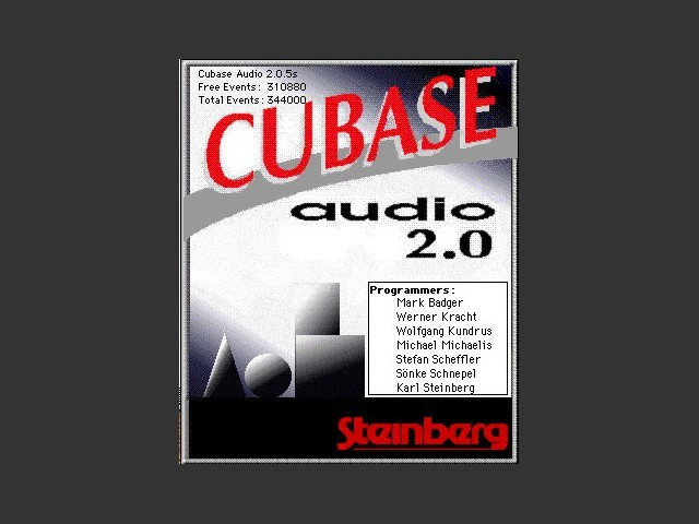 Cubase Audio 2.x (1994)