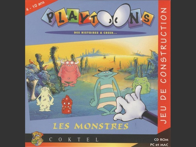 Playtoons Cartoon Creation Kit 1: The Monsters (1996)