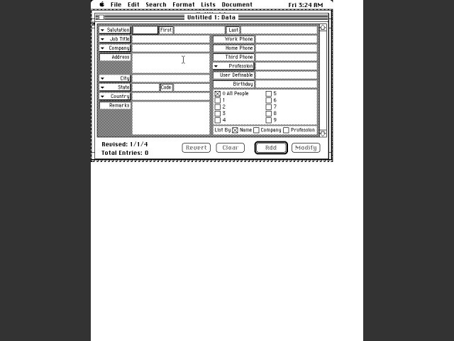Address Book Plus (1990)