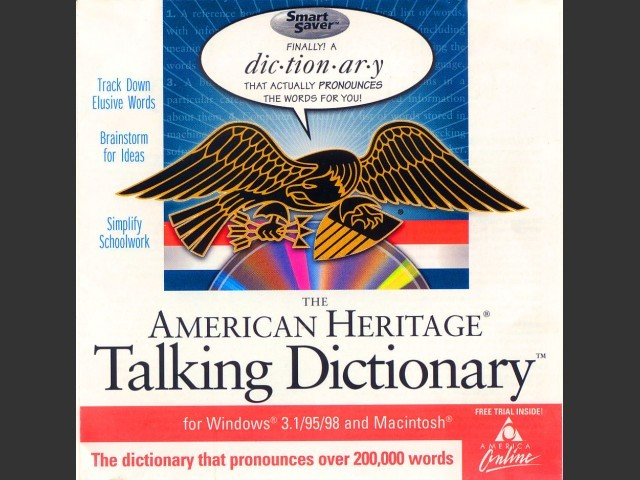 The American Heritage Talking Dictionary: Third Edition (1999)