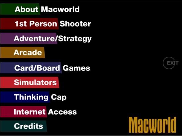 Macworld Gaming MegaPac (1998)