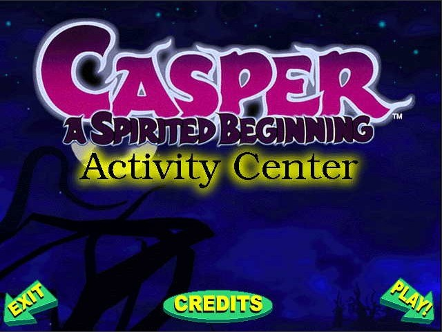 Casper Animated Activity Center (1998)